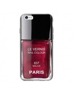 Coque Vernis Paris Malice Violet pour iPhone 6 Plus - Laetitia
