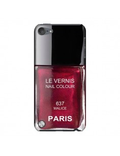 Coque Vernis Paris Malice Violet pour iPod Touch 5 - Laetitia