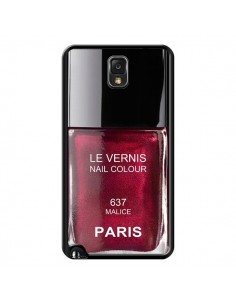 Coque Vernis Paris Malice Violet pour Samsung Galaxy Note IV - Laetitia