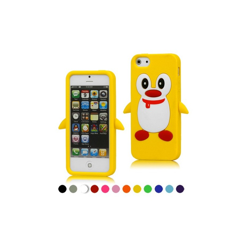 coque en silicone iphone 5 se