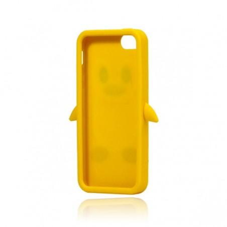 Coque Pengouin en Silicone pour iPhone 5