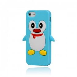 Coque Pingouin en Silicone pour iPhone 5/5S et SE
