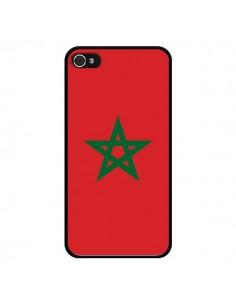 Coque Drapeau Maroc Marocain pour iPhone 4 et 4S - Laetitia