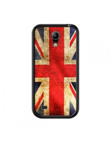 Coque Drapeau Angleterre Anglais UK pour Samsung Galaxy S4 Mini - Laetitia