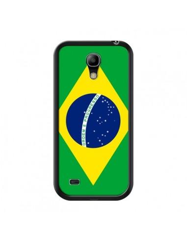 Coque Drapeau Brésil Brésilien pour Samsung Galaxy S4 Mini - Laetitia