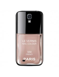 Coque Vernis Paris Frenzy Beige pour Samsung Galaxy S4 - Laetitia