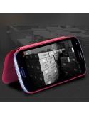 Etui en simili cuir pour Samsung Galaxy S3