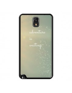 Coque Adventure is waiting Cœurs pour Samsung Galaxy Note 4 - R Delean