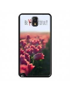 Coque Coque Be you Tiful Tulipes pour Samsung Galaxy Note 4 - R Delean