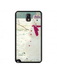 Coque Bonhomme de Neige pour Samsung Galaxy Note III - R Delean