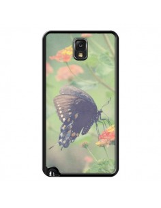 Coque Papillon Butterfly pour Samsung Galaxy Note 4 - R Delean