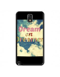 Coque Dream on Dreamer Rêves pour Samsung Galaxy Note 4 - R Delean