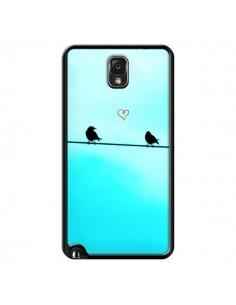 Coque Oiseaux Birds Amour Love pour Samsung Galaxy Note 4 - R Delean