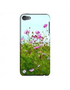 Coque Fleurs Roses Champ pour iPod Touch 5 - R Delean