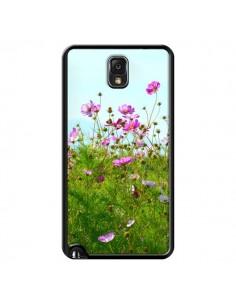 Coque Fleurs Roses Champ pour Samsung Galaxy Note III - R Delean