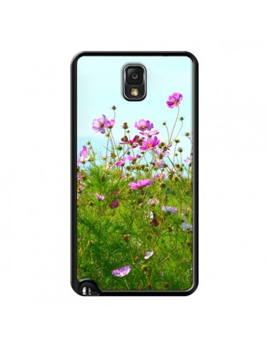Coque Fleurs Roses Champ pour Samsung Galaxy Note 4 - R Delean