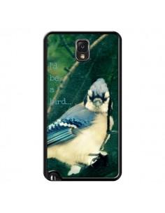 Coque I'd be a bird Oiseau pour Samsung Galaxy Note 4 - R Delean