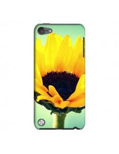 Coque Tournesol Zoom Fleur pour iPod Touch 5 - R Delean