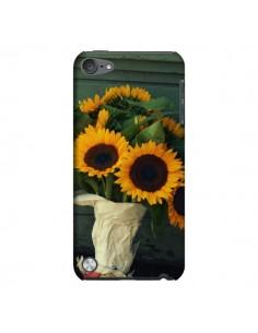 Coque Tournesol Bouquet Fleur pour iPod Touch 5 - R Delean