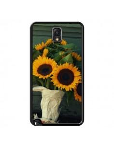 Coque Tournesol Bouquet Fleur pour Samsung Galaxy Note 4 - R Delean