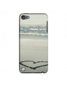 Coque Cœur Plage Beach Mer Sea Love Sable Sand pour iPod Touch 5 - R Delean
