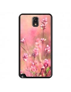 Coque Fleurs Bourgeons Roses pour Samsung Galaxy Note 4 - R Delean