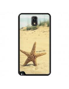 Coque Etoile de Mer Plage Beach Summer Ete pour Samsung Galaxy Note 4 - R Delean
