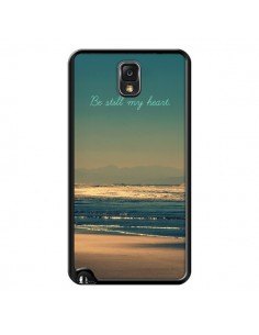 Coque Be still my heart Mer Sable Beach Ocean pour Samsung Galaxy Note III - R Delean