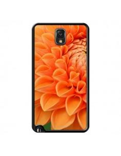 Coque Fleurs oranges flower pour Samsung Galaxy Note 4 - R Delean