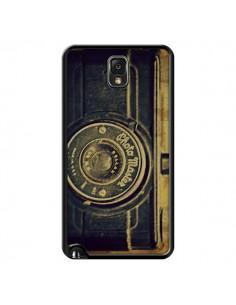 Coque Appareil Photo Vintage Vieux pour Samsung Galaxy Note 4 - R Delean