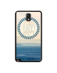 Coque Happy Day Mer Ocean Sable Plage Paysage pour Samsung Galaxy Note III - R Delean