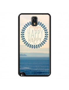 Coque Happy Day Mer Ocean Sable Plage Paysage pour Samsung Galaxy Note 4 - R Delean