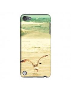 Coque Mouette Mer Ocean Sable Plage Paysage pour iPod Touch 5 - R Delean