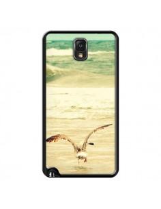 Coque Mouette Mer Ocean Sable Plage Paysage pour Samsung Galaxy Note 4 - R Delean