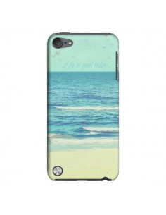Coque Life good day Mer Ocean Sable Plage Paysage pour iPod Touch 5 - R Delean