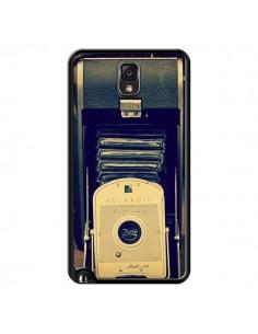 Coque Appareil Photo Vintage Polaroid Boite pour Samsung Galaxy Note 4 - R Delean