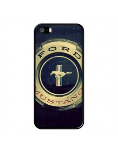 Coque Ford Mustang Voiture pour iPhone 5 et 5S - R Delean