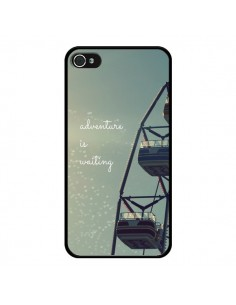 Coque Adventure is waiting Fête Forraine pour iPhone 4 et 4S - R Delean