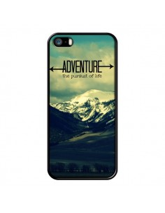 Coque Adventure the pursuit of life Montagnes Ski Paysage pour iPhone 5 et 5S - R Delean