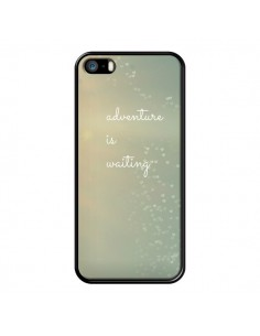 Coque Adventure is waiting Cœurs pour iPhone 5 et 5S - R Delean