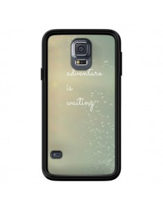 Coque Adventure is waiting Cœurs pour Samsung Galaxy S5 - R Delean