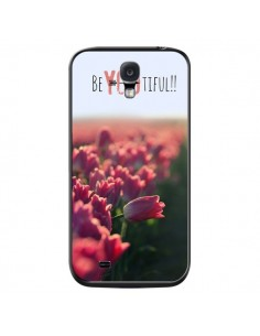 Coque Coque Be you Tiful Tulipes pour Samsung Galaxy S4 - R Delean