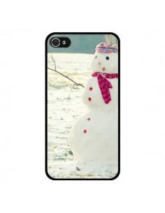 Coque Bonhomme de Neige pour iPhone 4 et 4S - R Delean