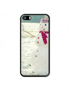 Coque Bonhomme de Neige pour iPhone 5 et 5S - R Delean