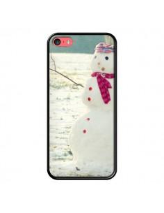 Coque Bonhomme de Neige pour iPhone 5C - R Delean