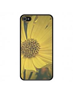 Coque Tournesol Fleur pour iPhone 4 et 4S - R Delean