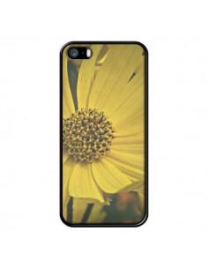 Coque Tournesol Fleur pour iPhone 5 et 5S - R Delean