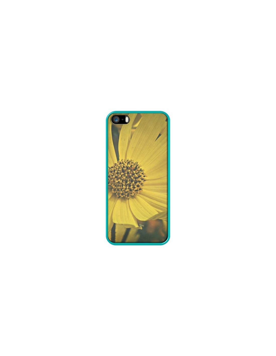coque iphone 5 tournesol