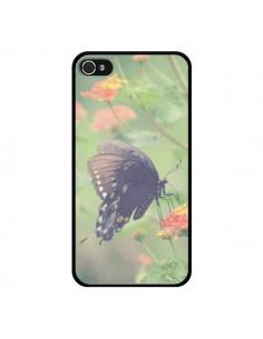 Coque Papillon Butterfly pour iPhone 4 et 4S - R Delean