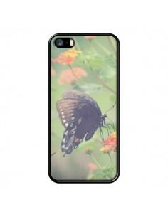 Coque Papillon Butterfly pour iPhone 5 et 5S - R Delean